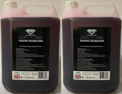 Engine Degreaser Concentrate & Parts Washer Fluid Heavy Duty 2x5 Litre Brand New