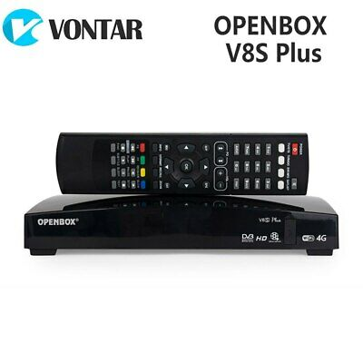 New Openbox V8S + DVB-S2 Digital Satellite Receiver Support Xtream TV USB Wifi