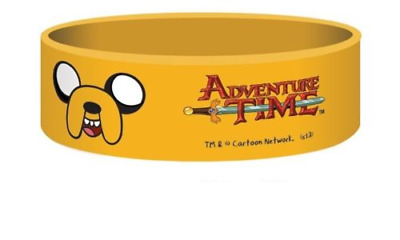 Adventure Time - Jake Silicon / Rubber Wristband BY PYRAMID
