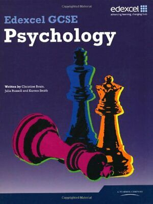 Edexcel GCSE Psychology Student Book, Brain, Russell, Smith 9781846904837 New..