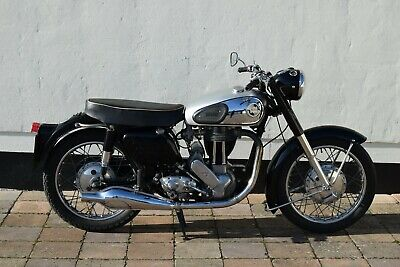 1955 Norton 19S - 596cc Single - Lovely, special machine