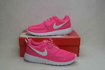07cd56f4d367 Nike Roshe One GS Youth Kids Juniors Running Shoes Pink Blast 599729-611 Size  7Y