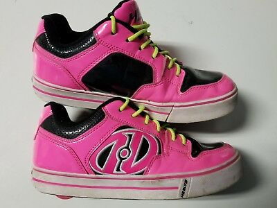 Girls Youth HEELYS Size 6 Hot Pink Cool