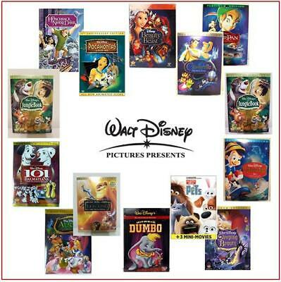 Disney Pixar DVD Movies Lot - Select Titles and Save on Shipping buying Multiple