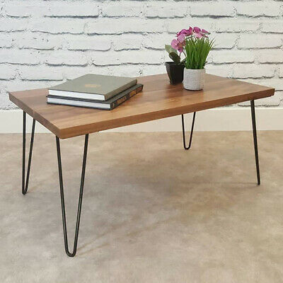 "4 Pack Hairpin Metal Table Coffee Cabinet Bench Legs 12"" Retro Style UK"