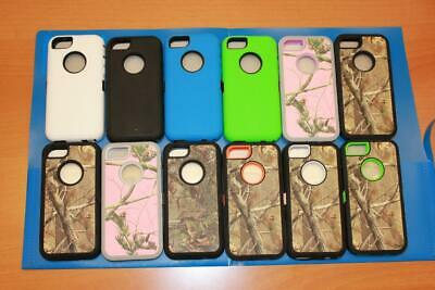 NEW Real Tree Camo Case For iPhone 5/5S/SE/5C (Fits Otterbox Defender Belt Clip)