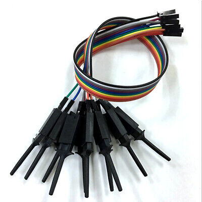 Test Clamp Wire Hook 4PCS Test Clip for Logic Analyzer Electronic Components