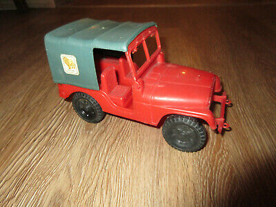 Jeep Safari Plastik Kunststoff rot alt - Made in Italy