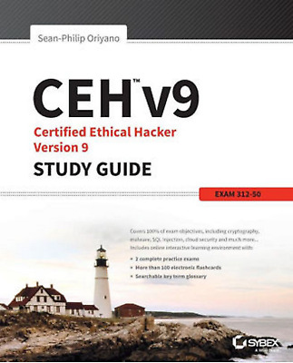 NEW CEH V9 OFFICIAL ETHICAL HACKING and COUNTERMEASURES Course Books