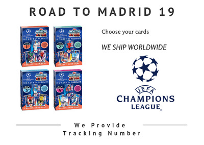 Topps Match Attax Champions League  18/19  Road To Madrid 2019 Le Ronaldo /messi