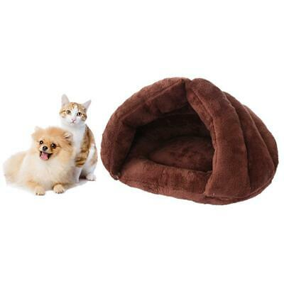 Soft Mat Pet Cat Dog House Kennel Puppy Cave Sleeping Bed Warm Pad Winter Nest