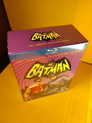 Batman: The Complete Series (Blu-ray Boxset,13-Disc Set)NEW(Sealed)Free Shipping