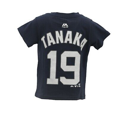 New York Yankees MLB Majestic Infant Toddler Size Masahiro Tanaka T-Shirt New