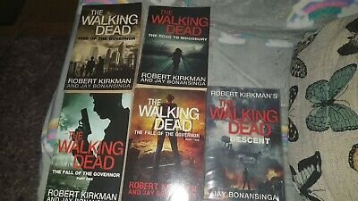 The Walking Dead Novel Collection 1 To 5 In Paperback