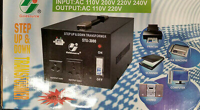 STU 3000 W Watt Step Up Down 110V 220V Voltage Converter Transformer with USB