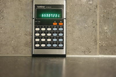BROTHER 408AD - Calculatrice - Pocket Calculator - Vintage
