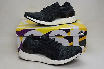 70d9704e8d4 Adidas UltraBOOST X Women Sneakers BB1696 Gray Black Running Shoes Size 9.5