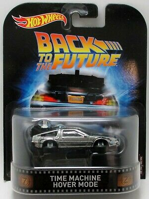 Hot Wheels  DeLorean Time Machine Hover Mode (Back to the Future)