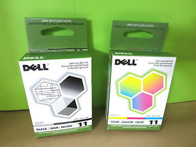 Lot Of 2 Dell Kx701/kx703 Black & Color  Ink Cartridge Factory Sealed Dell 948