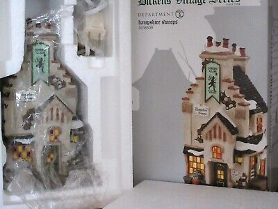 [NEW] Dept 56 HAMPSHIRE SWEEPS Dickens Village #4036509 Retired Chimney Sweep