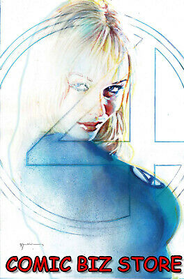 Fantastic Four #8 (2019) 1St Print Scarce 1:25 Sienkiewicz Variant Cover Marvel