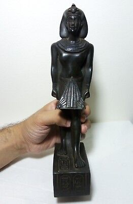 RARE ANCIENT EGYPTIAN ANTIQUE KING TUTANKHAMUN Statue 1332-1323 BC
