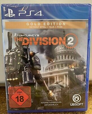 NEU / Tom Clancy's The Division 2 / Gold Edition / PS4 / OVP