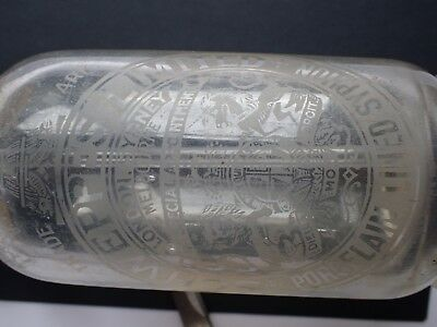 Vintage Schweppes Soda Syphon Silver Top Htf Used Condition Regist Post +Trackin