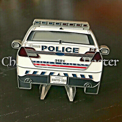 C57 Canada Canadian Toronto Police Car Challenge Coin