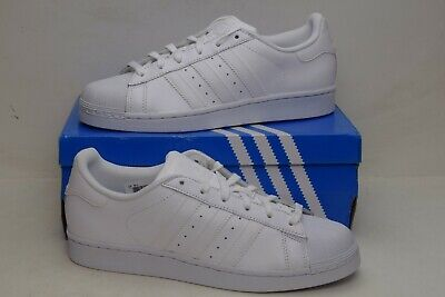 promo code 5e071 1aaa7 Adidas Superstar All White Original Size 6.5 Junior Shoes B23641 DAMAGED  DISPLAY