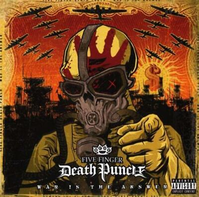 FIVE FINGER DEATH PUNCH War Is The Answer CD BRAND NEW
