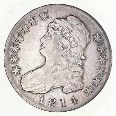 1814 Capped Bust Half Dollar *2653