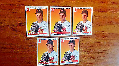 """1991 Score #383 (Lot Of Five) """"2019 Hofer"""" Mike Mussina """"1St Round Draft Pick"""""""