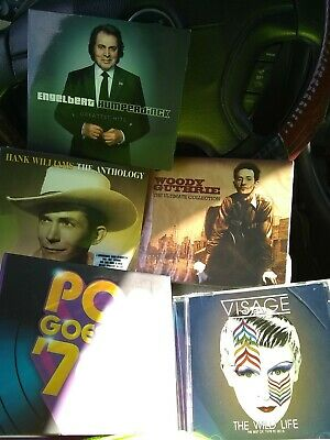 Pop Goes The '70s Time Life Box Set 5 Cds + Hank Williams + Woodie Guthrie +...