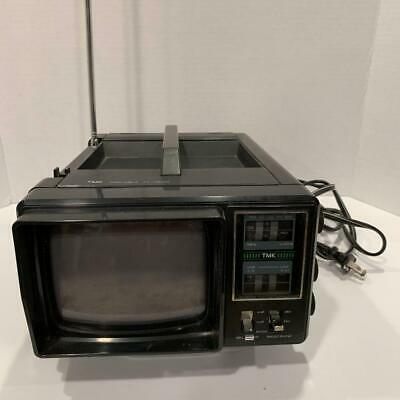 Vintage TMK Model No. 705 Portable TV- AM/FM Radio Tested Works Great