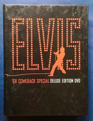 ELVIS PRESLEY 68 Comeback Special Deluxe Edition 3 DVD Set 1968 Fast Shipping