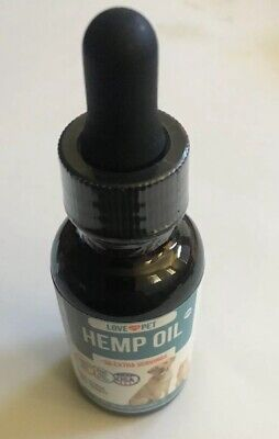 Serenity Hemp Oil for Dogs and Cats (500mg)Grown Made in USA Supports Hip Anxiet