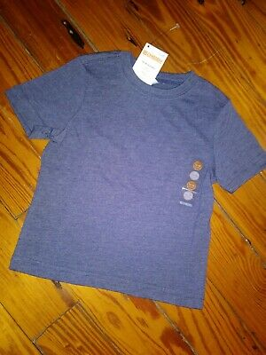NWT Boy/'s Gymboree Hop Roll red blue gray striped shirt ~ 6 12 18 24 months 3T