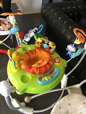 Fisher Price Rainforest Jumperoo Bouncer Music Entertain Toddler Baby Fun Seat
