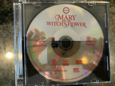 Mary and the Witch's Flower DVD Disc ONLY No Digital/Slip/Cover Combine SHIP