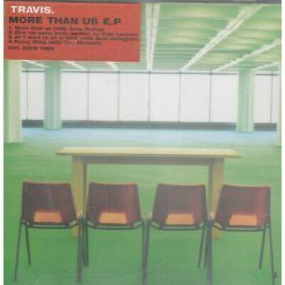 TRAVIS (INDIE GROUP) More Than Us EP CD UK Issue Pressed In Austria
