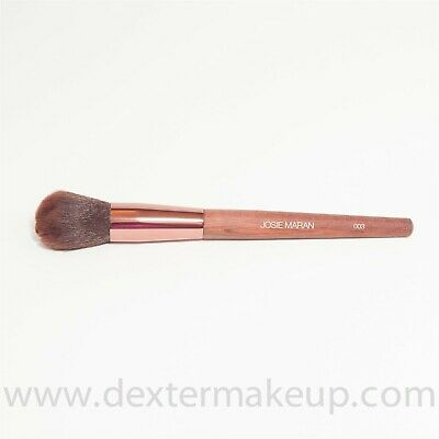 Josie Maran Blush Brush 003 with Wooden Handle FULL SIZE & SEALED!