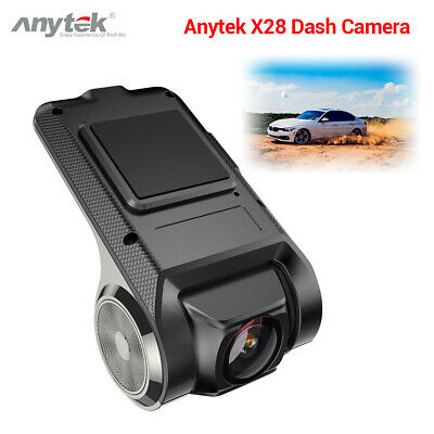Anytek X28 FHD 1080P 150° WiFi Car Dash Cam DVR Camcorder Auto Motion Detection