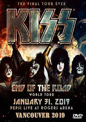 Kiss The End Of The Road In Vancouver 2019 2Dvd