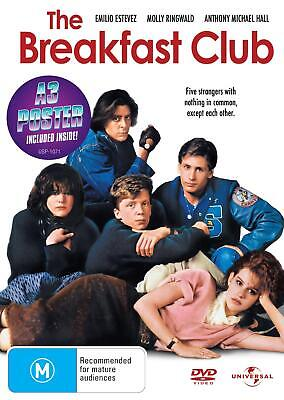 The Breakfast Club - DVD Region 4 Free Shipping!