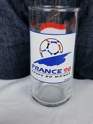 FIFA 1998 World Cup 98 FRANCE Shot Glass Official Licensed Product from France