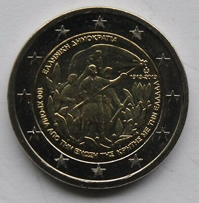 2013 Greece € 2 Euro Uncirculated UNC Coin Plato/'s Academy 2400 Years