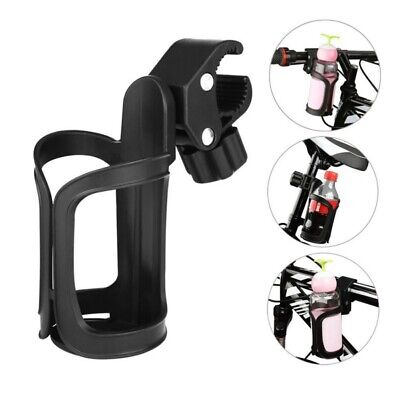 360 Degree Rotation Drink Bottle Cage Cup Holder for Bicycle Baby Stroller US