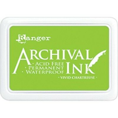 Archival Ink Pad #0 - Vivid Chartreuse