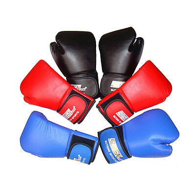 12oz PU Leather qpKUNG Boxing Gloves Training Wrist Joint For Boxing MMA USA